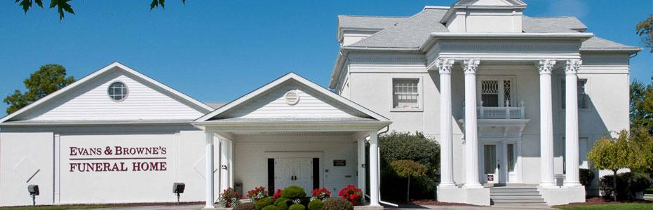 Contact Us | Evans & Browne's Funeral Home