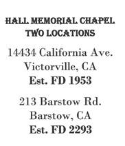 Hall Memorial Chapel
