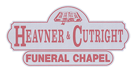 Heavner & Cutright Funeral Chapel.