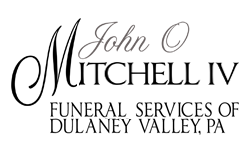 John O Mitchell IV Funeral Services of Dulaney Valley, PA