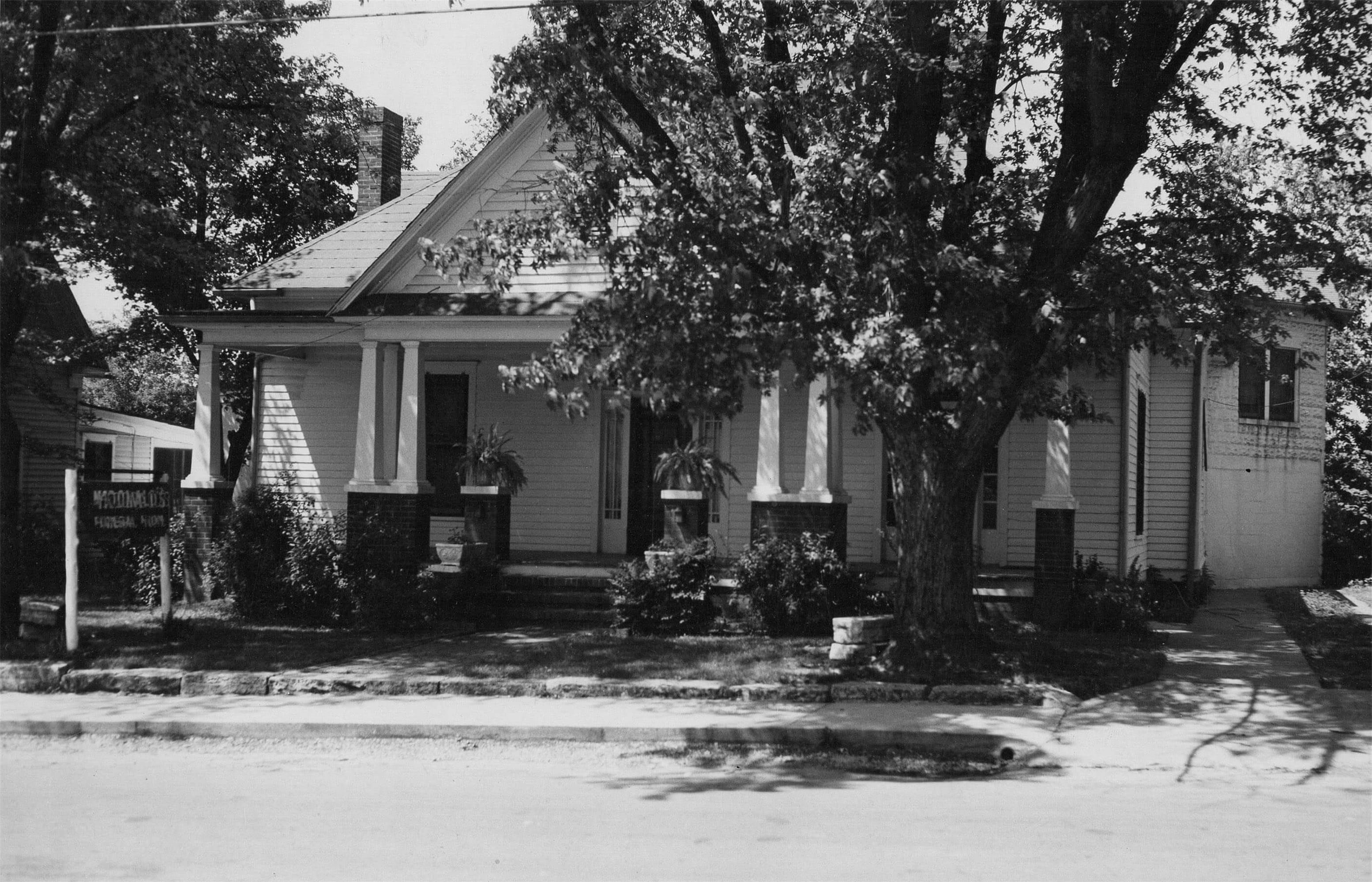 History Staff Mcdonald Funeral Home Inc Centerville Tn