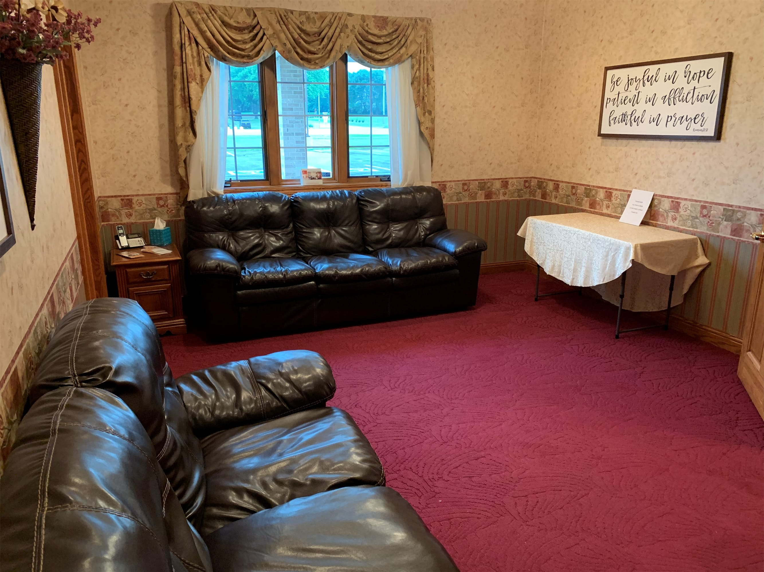 Facilities & Directions | Schuchert-Lentz Funeral Home - Spirit Lake, IA