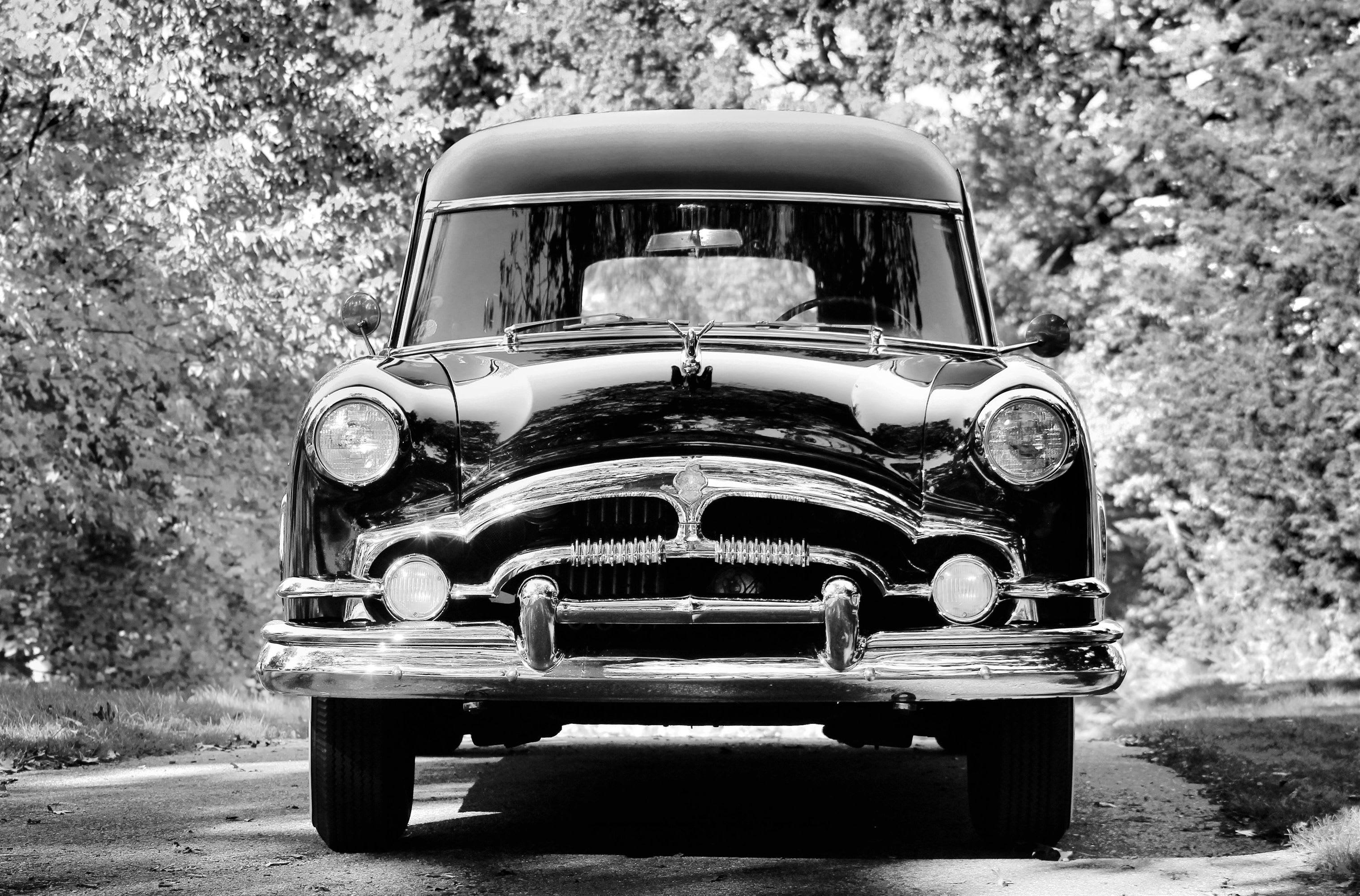 Antique Funeral Coaches Pederson Funeral Home Rockford Mi