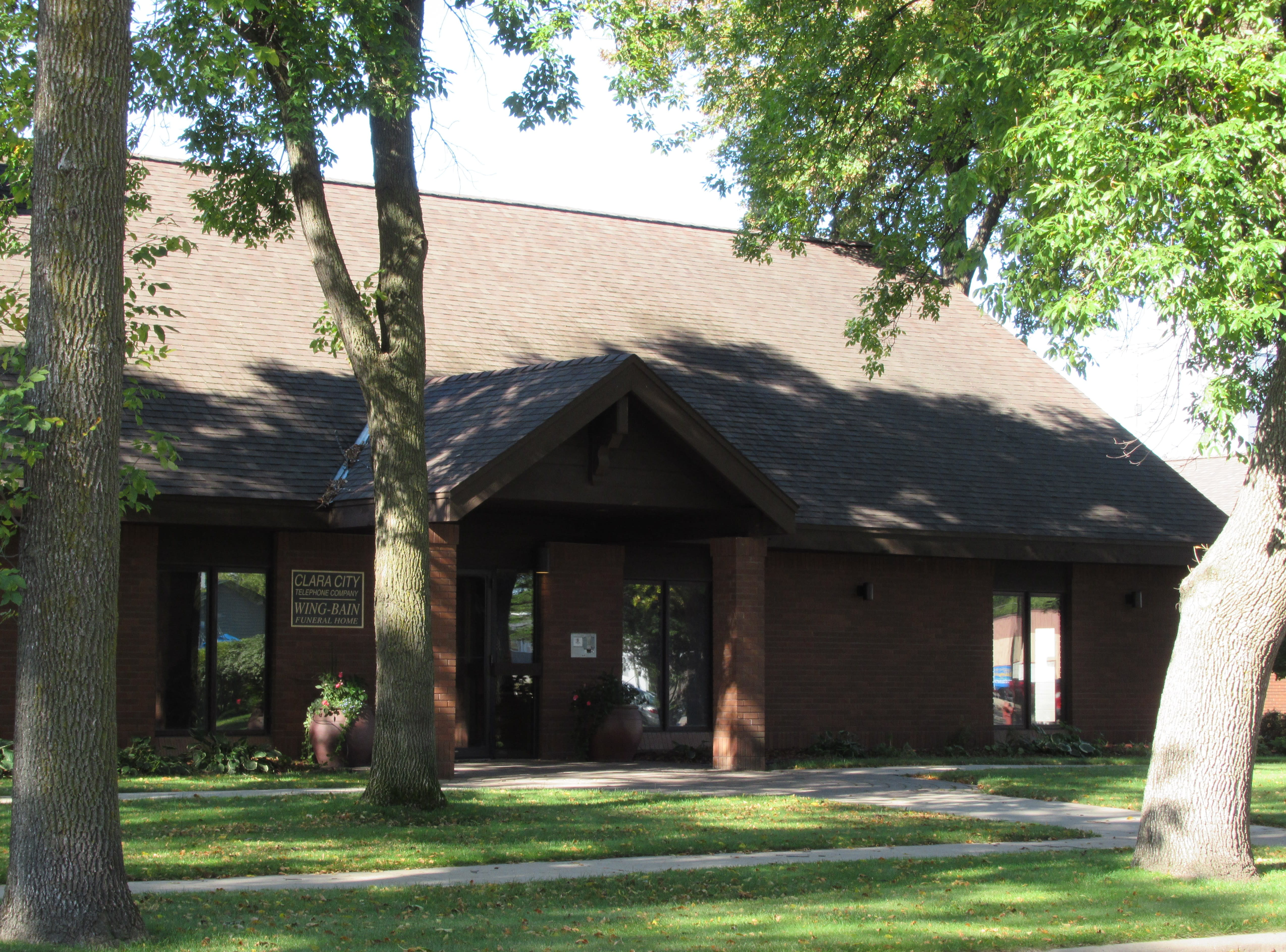 Wing Bain Funeral Home Montevideo Mn
