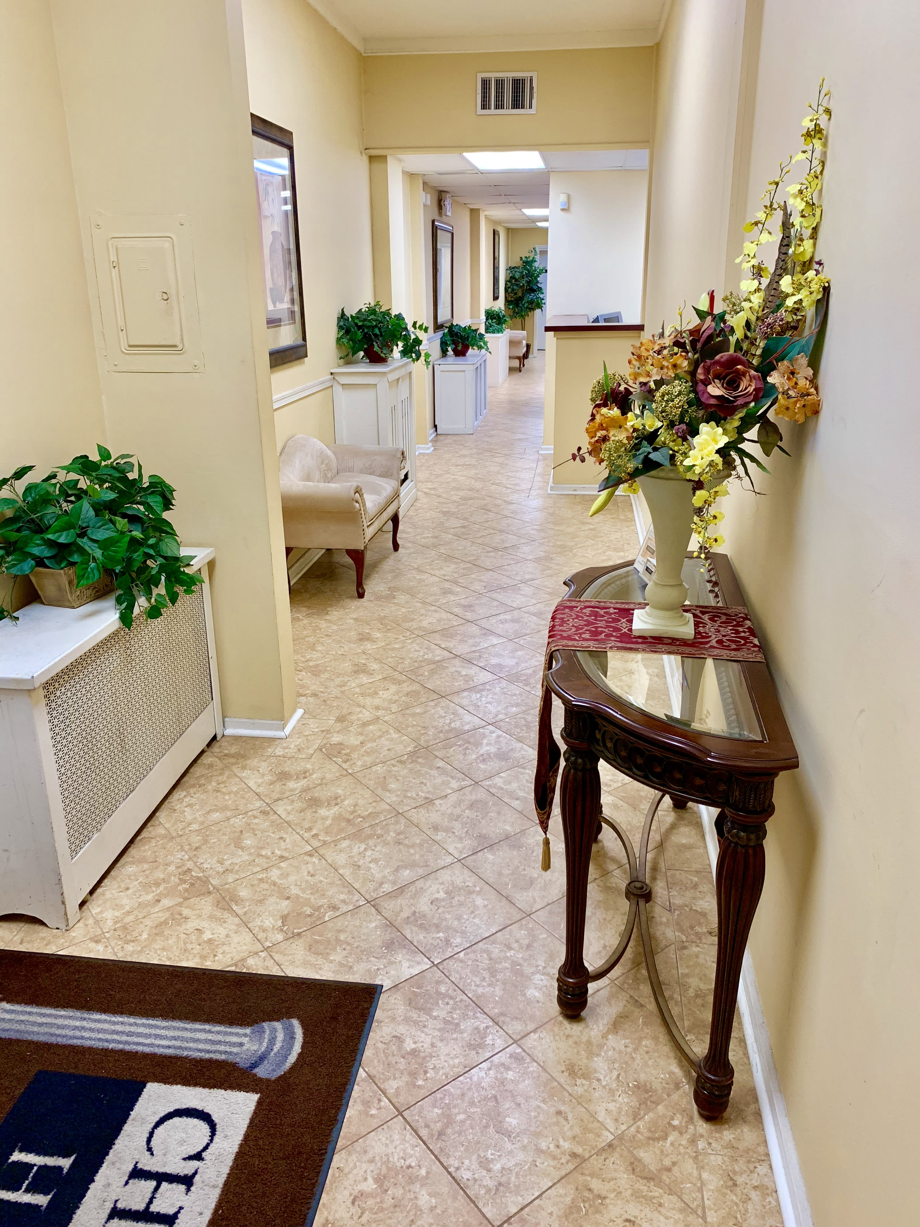 Facilities & Directions | Chatman - Harris Funeral Homes
