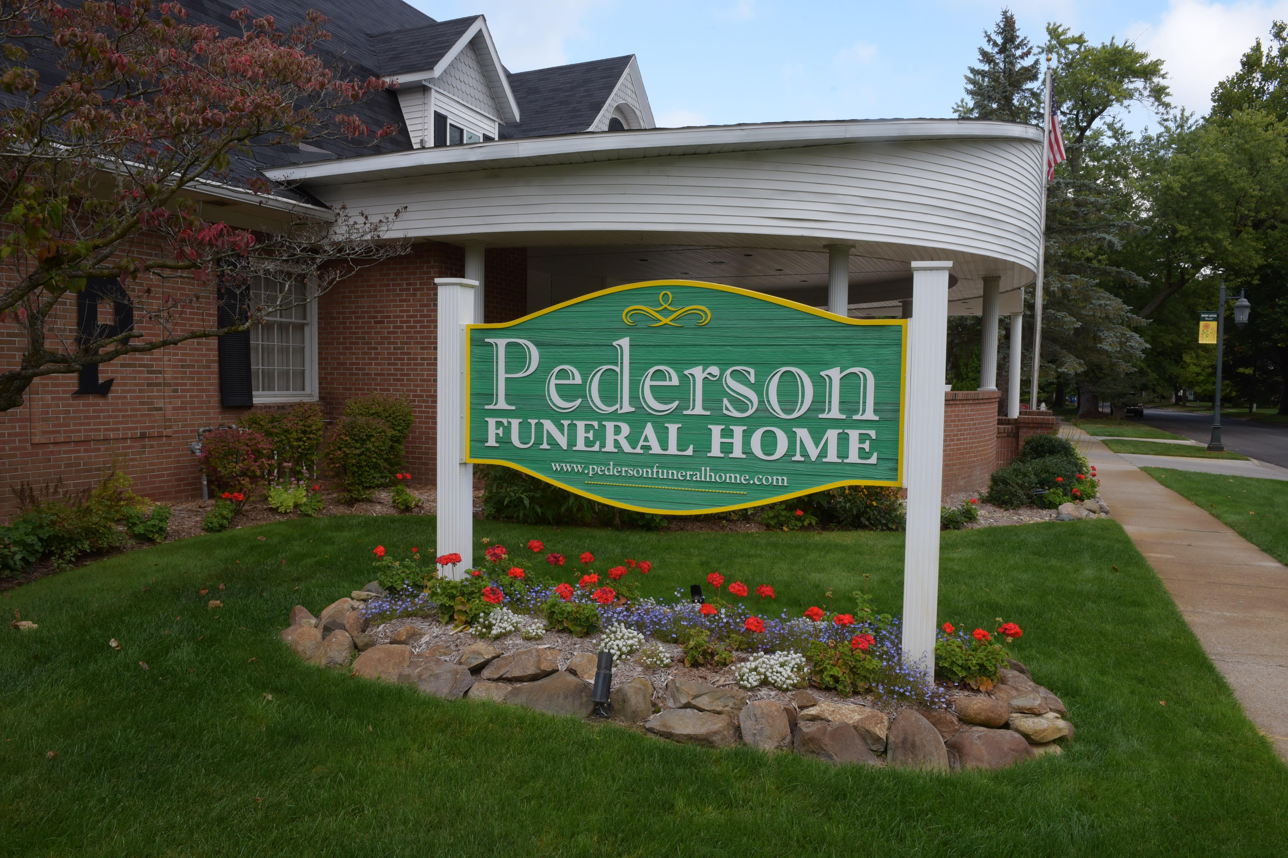 Pederson Funeral Home Rockford Mi