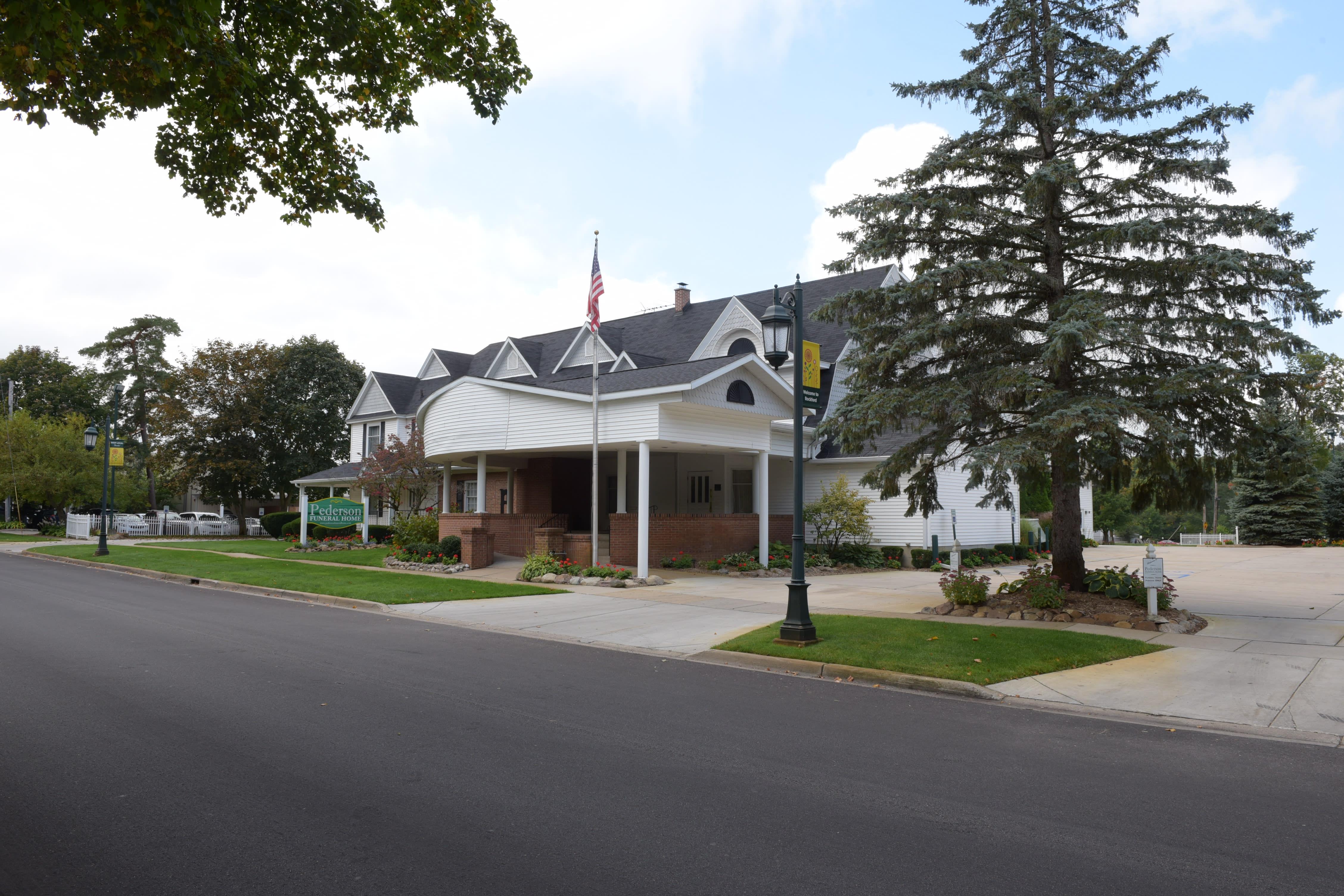 Facilities Directions Pederson Funeral Home Rockford Mi