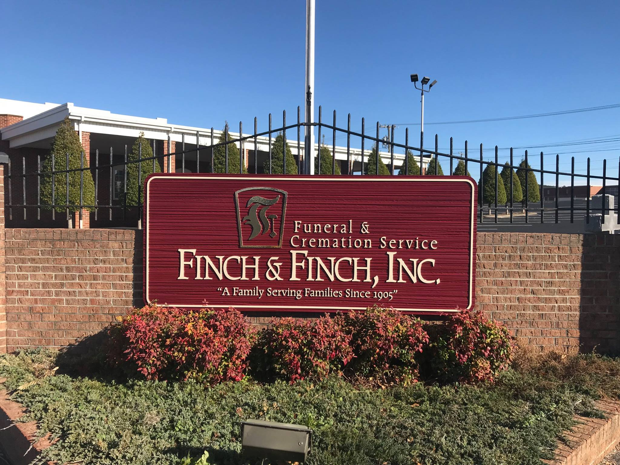 Facilities Directions Finch Finch Funeral Cremation Service