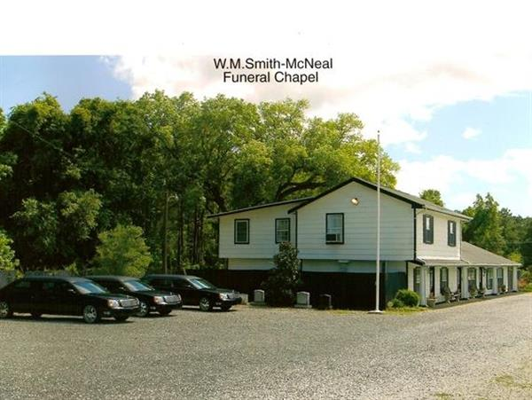 W M Smith Mcneal Funeral Home Charleston Sc