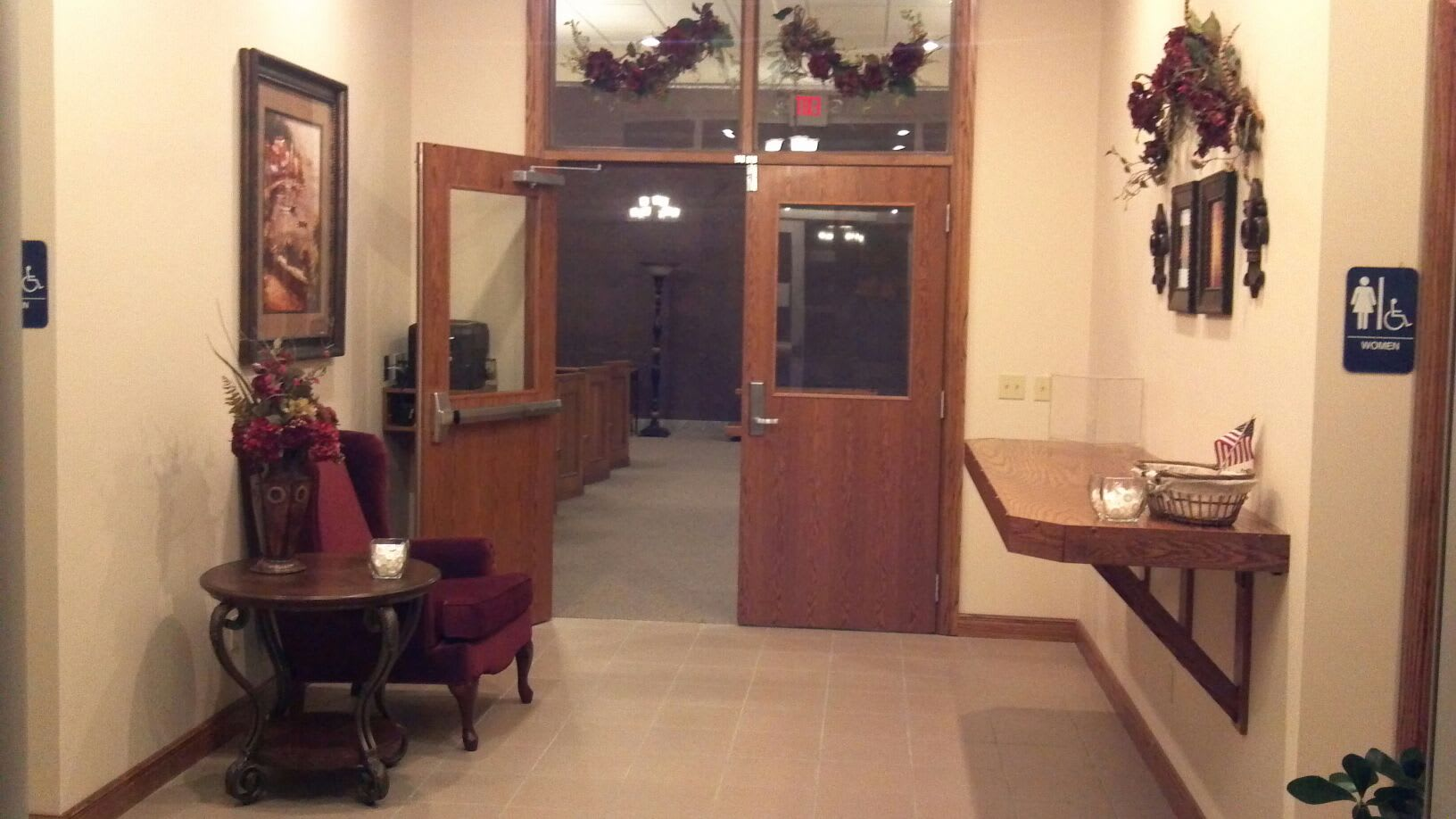 Facilities & Directions | Crain Funeral Home - Cape