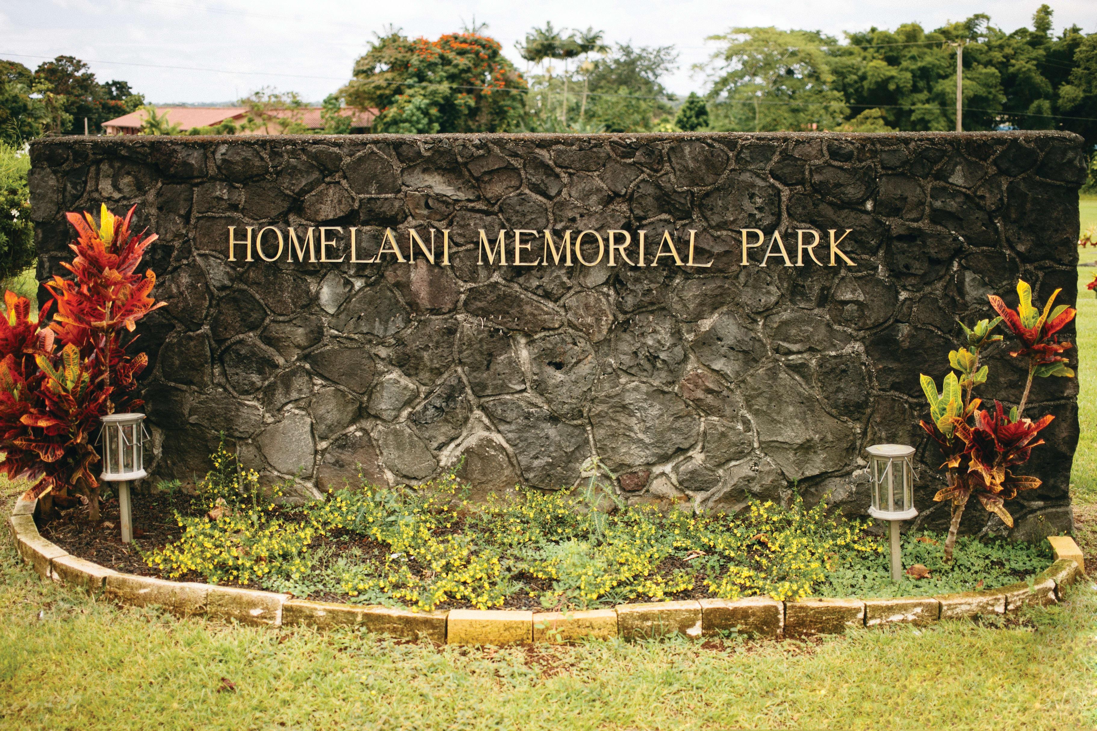 Locations | Homelani Memorial Park