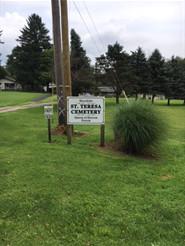 Saint Teresa Cemetery, Hoytdale PA