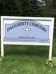 Saints Peter and Paul Cemetery, Daugherty Township PA