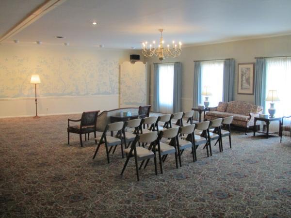 Primary Chapel - Large spacious area for family & friends to share