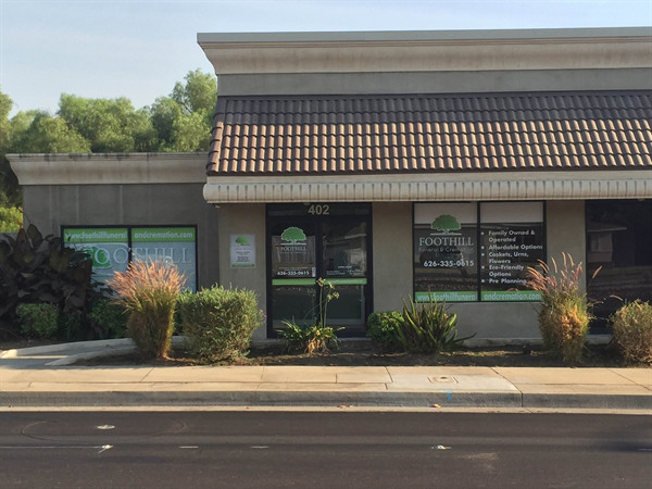 Conveniently located near the 210 and 57 Freeways Serving all of Southern California