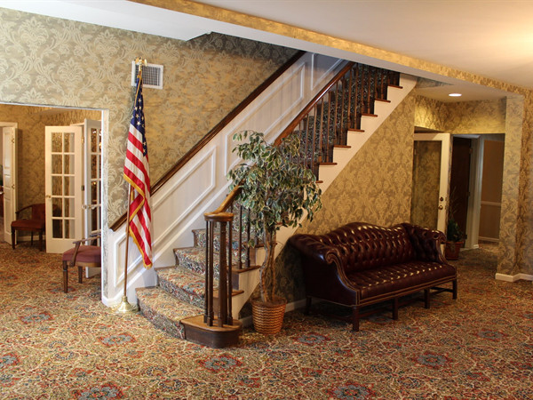 Frony Foyer Stairs