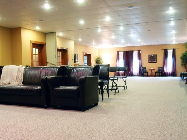 Full Visitation View. Our room can be divided or remain open to offer one of the largest rooms in the County.