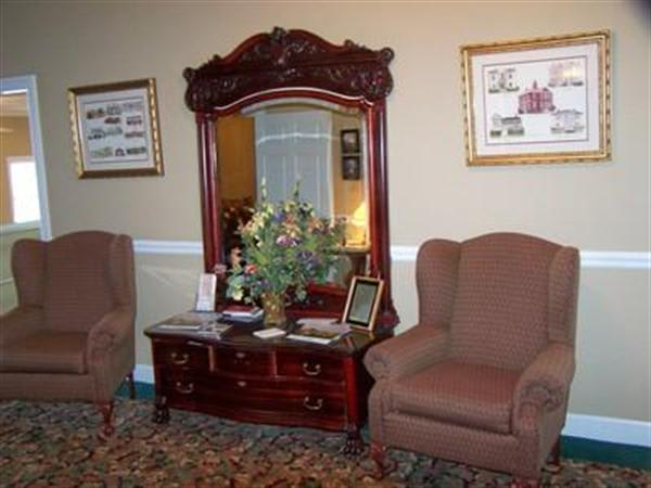 One of many sitting rooms