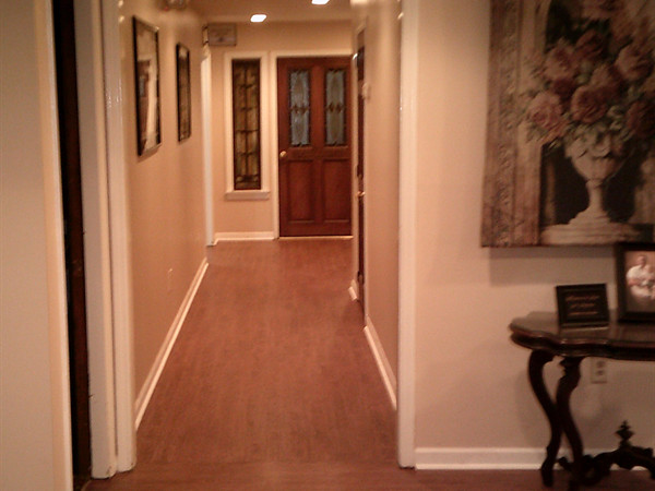 Hallway to Reception Room