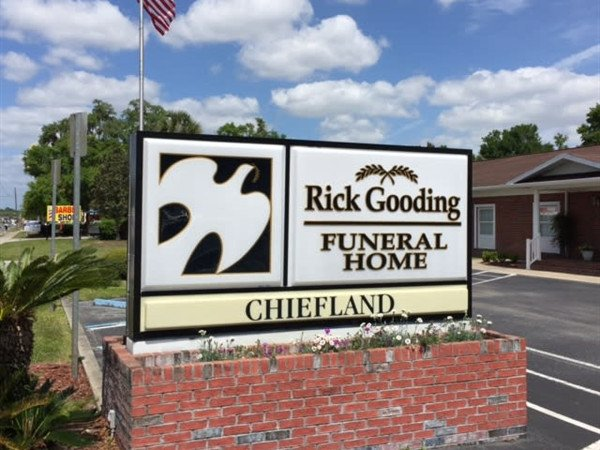New sign at our Chiefland office