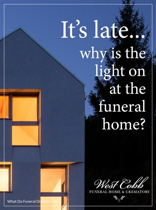 What do funeral directors do?