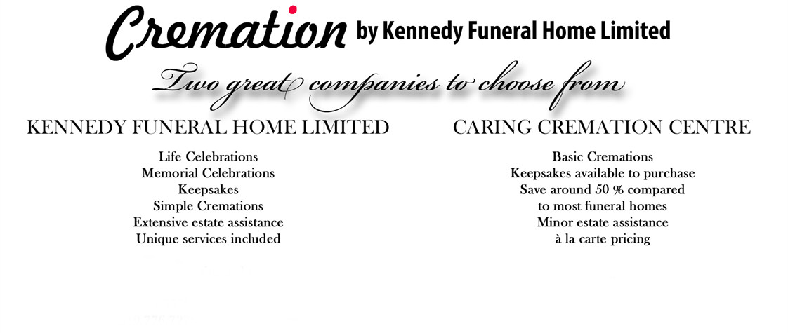 Kennedy Funeral Home provides basic and simple cremations. Our Essex funeral home specializes in basic cremations