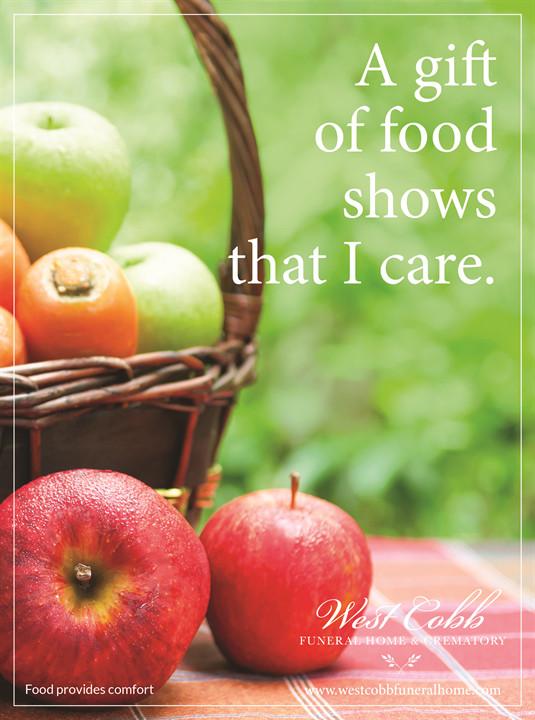 Food Provides Comfort