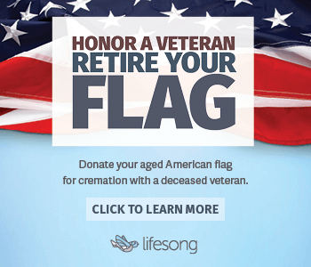 Honor a veteran retire your flag