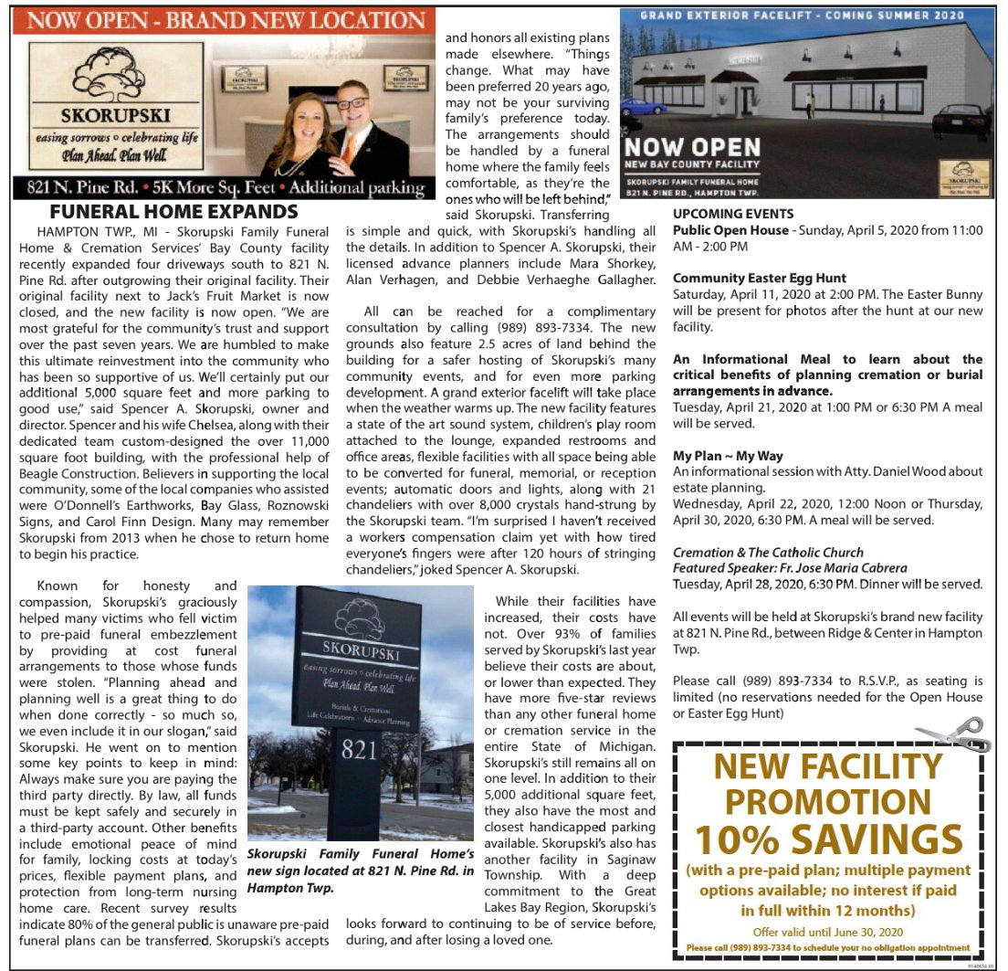 Funeral Home and Cremations 000027 Services Our Expansion Article Media Img