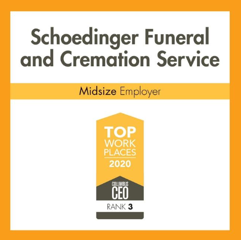 Schoedinger Funeral and Cremation Service - Top Workplaces 2020