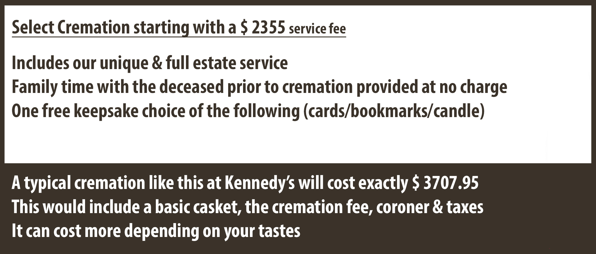 Cremation and funeral services in Essex Ontario. Serving Leamington Kingsville Tecumseh Windsor