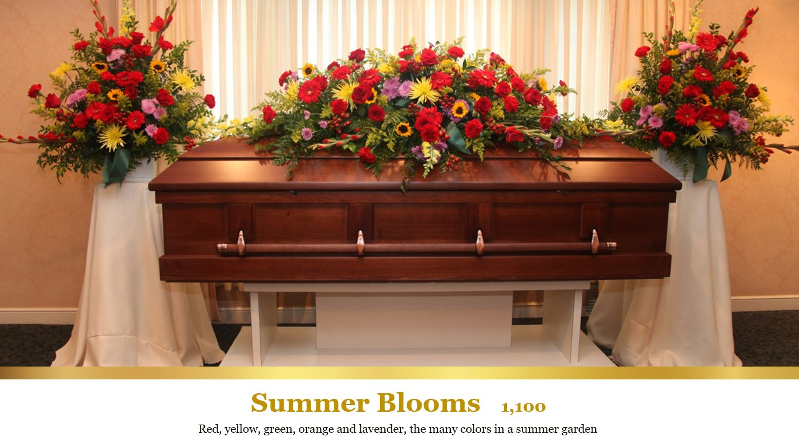 Flower Sprays, Funeral Flower Arrangements in Mentor, Willoughby, Painesville and Eastlake, OH