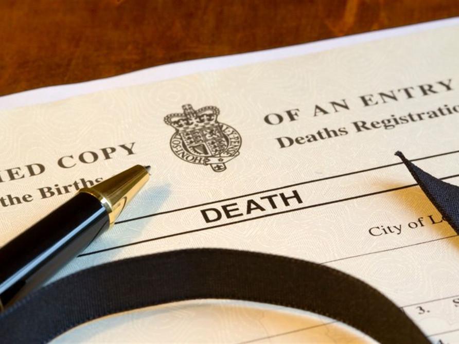 Death Certificates Mothe Funeral Home Algiers La