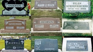 Headstones Nichols Funeral Cremation Services Grove Ok