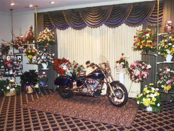 A Harley Visitation - Pray Funeral Home
