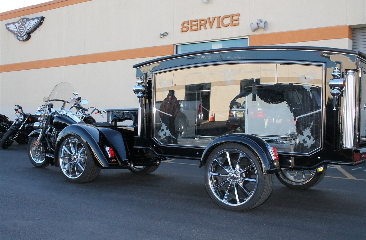 Roadmaster Motorcycles Hearse | Mitchum-Wilson Funeral Home