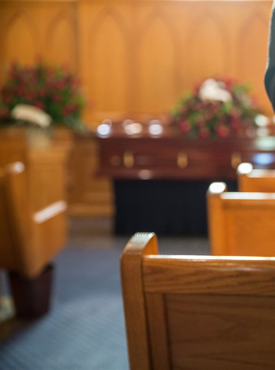 FUNERAL HOME VISITATION AND SERVICE (ONE DAY) $4,195