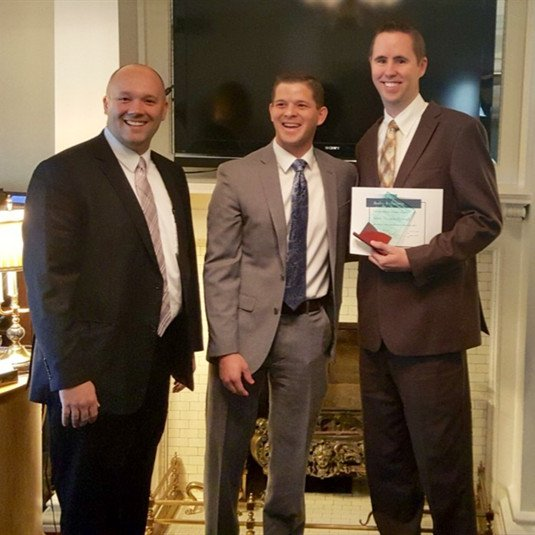 The Utah Funeral Directors Association Awards Rookie Recognition to Mark Thomas Howard of Berg Mortuary