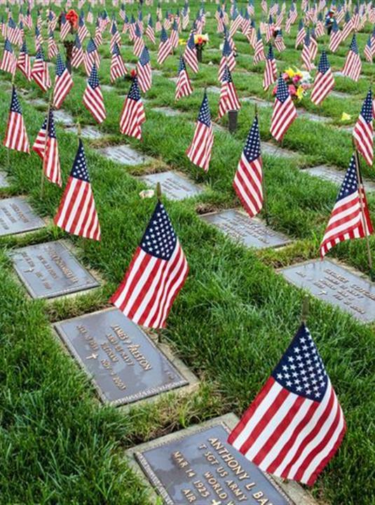 <span>Veteran Cemeteries</span>
