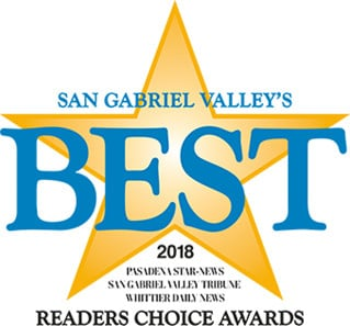 Reader's Choice Awards - San Gabriel Valley's Best 2018