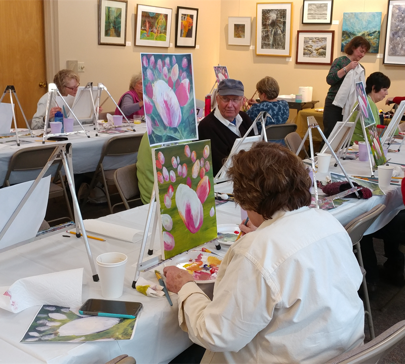 Fall 2018 Art Classes at Historic St. Agnes Cemetery