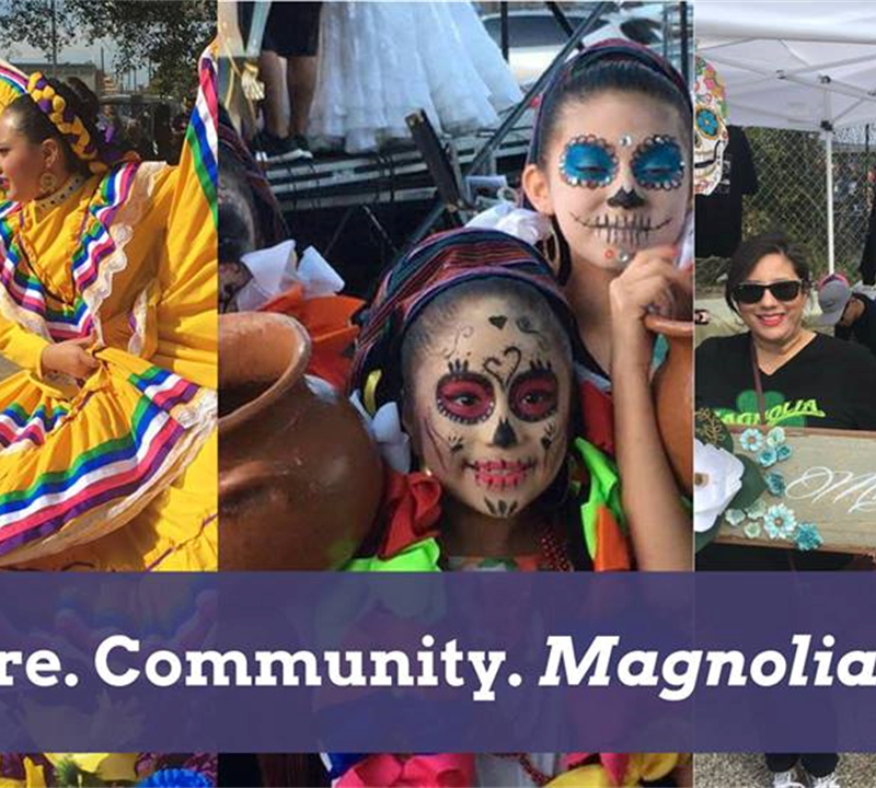 Proud Sponsor of the 5th Annual Magnolia Park Dia de los Muertos Block Party