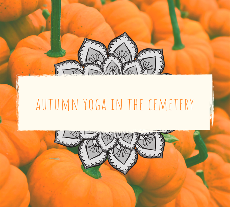 Autumn Yoga in the Cemetery