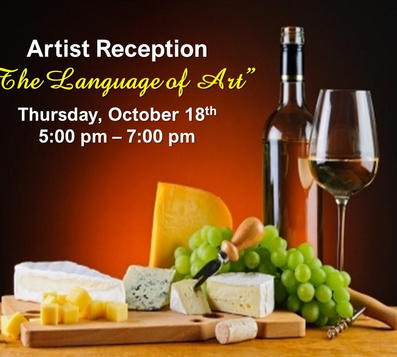 "Artist Reception: ""The Language of Art"""