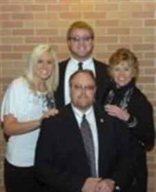 Jim Hoch with  Family