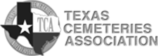 Texas Cemeteries Association Logo