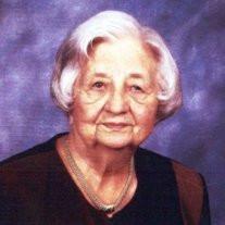 Mrs. Edith Clamp Watts