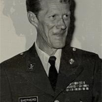 Sergeant Tom Shepherd