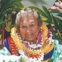 Estelle Kahawaiolaa Halualani  Drew