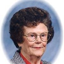 Mamie Florence Webb